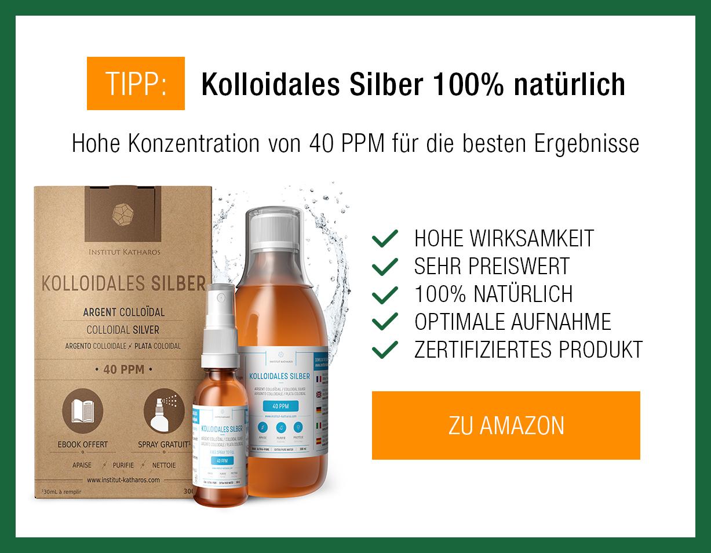 Kolloidales Silber Produkt
